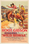 "Movie Posters:Western, Wild Horse (Allied Pictures, 1931). One Sheet (27"" X 41"").. ..."