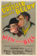 "Movie Posters:Comedy, Min and Bill (MGM, 1930). One Sheet (27"" X 41"").. ..."