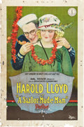 """Movie Posters:Comedy, A Sailor-Made Man (Pathé, 1921). One Sheet (27"""" X 41"""").. ..."""