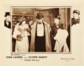 "Movie Posters:Comedy, Double Whoopee (MGM, 1929). Lobby Card (11"" X 14"").. ..."