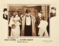 """Double Whoopee (MGM, 1929). Lobby Card (11"""" X 14"""")"""