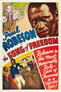 "Movie Posters:Black Films, Song of Freedom (Song of Freedom, Inc., 1936). One Sheet (27"" X41"").. ..."
