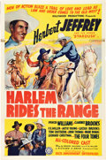 "Movie Posters:Black Films, Harlem Rides the Range (Sack Amusement Enterprises, 1939). OneSheet (27"" X 41"").. ..."