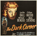 "Movie Posters:Film Noir, The Dark Corner (20th Century Fox, 1946). Six Sheet (81"" X 81"")....."