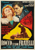 "Movie Posters:Drama, Rocco and His Brothers (Titanus-Les Films Marceau, 1960). Italian 2- Folio (39"" X 55"").. ..."