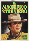 "Movie Posters:Western, The Magnificent Stranger (Unidas, 1966). Italian 2 - Folio (39"" X 55"").. ..."