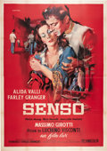 "Movie Posters:Drama, Senso (Lux Film, 1954). Italian 4 - Folio (55"" X 78"").. ..."