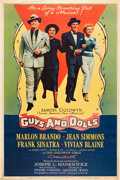 """Movie Posters:Musical, Guys and Dolls (MGM, 1955). Poster (40"""" X 60"""") Style Y.. ..."""