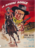 "Movie Posters:Western, Red River (United Artists, R-1950s). French Grande (47"" X 63"").. ..."