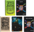 Music Memorabilia:Memorabilia, The Who - Tour Date Books for Quadrophenia '96, A QuickOne '97, Ted's in the Sheds '97, a...