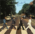 Music Memorabilia:Autographs and Signed Items, Beatles Related - Paul McCartney Signed Abbey Road Album....