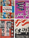 Music Memorabilia:Memorabilia, Biggest Show Vintage Program Books.... (Total: 4 )