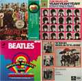 Music Memorabilia:Recordings, The Beatles LP Group of 7 (Various labels, 1960s-70s).... (Total: 7)