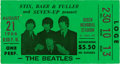 Music Memorabilia:Tickets, The Beatles Busch Stadium Used Ticket - August 21, 1966....