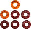 Music Memorabilia:Recordings, Buddy Holly 45s, Group of 7 (1957-58).... (Total: 7 )