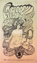 Music Memorabilia:Posters, Grateful Dead/Paupers Fillmore Concert Poster BG-62 (Bill Graham,1967)....
