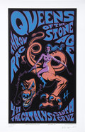 "Music Memorabilia:Posters, Queens of the Stone Age Concert Poster Signed and Numbered Group of5 (2003-07) 16"" x 23.5"" to 26"" x 33"".... (Total: 5 )"