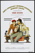 "Movie Posters:Crime, The Sting (Universal, 1973). One Sheet (27"" X 41"") Flat-Folded.Crime.. ..."