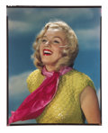 Movie/TV Memorabilia:Photos, Marilyn Monroe Rare Color Transparency by Roger Davidson....