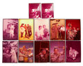 Movie/TV Memorabilia:Photos, Lloyd Bridges, Three Stooges, and Others Rare ColorTransparencies.... (Total: 12 Items)