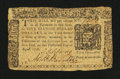 Colonial Notes:New York, New York August 13, 1776 $5 Fine....