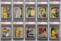"""Non-Sport Cards:Sets, 1936 R147 """"Tarzan and The Vault of Isis"""" Partial Set (18/50) - #3on PSA Set Registry. ..."""