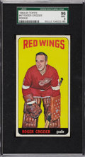 Hockey Cards:Singles (1960-1969), 1964-65 Topps Roger Crozier #47 SGC 96 Mint 9 - Pop 2 with None Higher!...