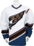 Hockey Collectibles:Uniforms, 2006-07 Alexander Ovechkin Game Worn Jersey, w/Photomatch....