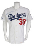 Baseball Collectibles:Uniforms, 1990 Eddie Murray Game Worn Jersey....