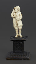 Decorative Arts, Continental:Other , A GERMAN IVORY FIGURE . Maker unknown, Germany, circa 1880.Unmarked. 3-5/8 inches (9.3 cm). 10.6 ounces (gross) . ...