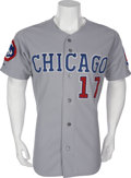 Baseball Collectibles:Uniforms, 1991 Mark Grace Game Worn Uniform....