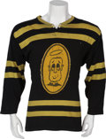 Hockey Collectibles:Uniforms, 1965 Flying Fathers Game Worn Hockey Jersey....