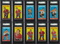 Hockey Cards:Lots, 1964-65 Topps Hockey SGC 88 NM/MT 8 Collection (10)....