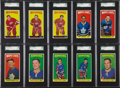 Hockey Cards:Lots, 1964-65 Topps Hockey SGC-Graded Collection (10)....