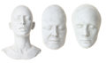 Movie/TV Memorabilia:Original Art, Patricia Arquette, Sigourney Weaver, and Julia Roberts LifeMasks.... (Total: 3 Items)