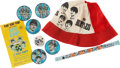 Music Memorabilia:Memorabilia, The Beatles Assorted Memorabilia Items.... (Total: 9 )