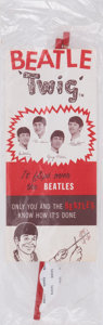 Music Memorabilia:Toys, The Beatles Vintage Twig Toy....