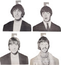 Music Memorabilia:Memorabilia, Beatles Vintage Clothes Hangers, Set of 4.... (Total: 4 )