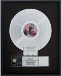 Music Memorabilia:Awards, Fleetwood Mac Tango in the Night RIAA Platinum AlbumAward....