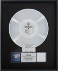 Music Memorabilia:Awards, Fleetwood Mac Greatest Hits RIAA Platinum Album Award....