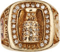 Hockey Collectibles:Others, 1993 Jesse Belanger Montreal Canadiens Stanley Cup Champions Ring....
