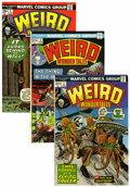 Bronze Age (1970-1979):Horror, Weird Wonder Tales Group (Marvel, 1973-77) Condition: AverageVF+.... (Total: 18 Comic Books)