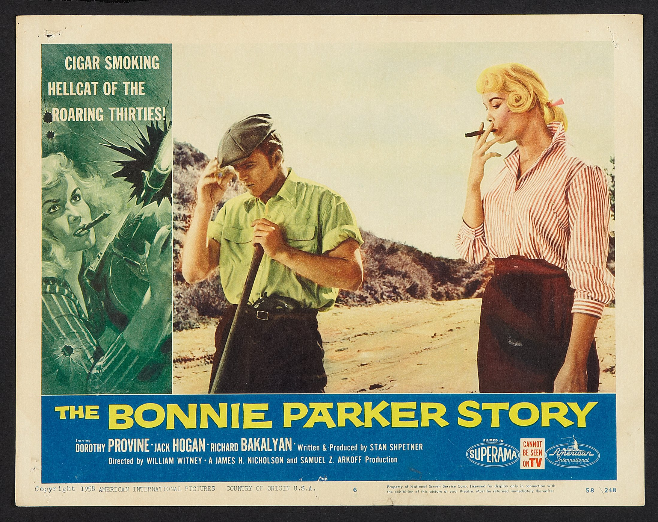 The Bonnie Parker Story (American International, 1958). Lobby Cards | Lot  #53027 | Heritage Auctions
