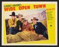 """Movie Posters:Western, Wide Open Town (Paramount, 1941). Lobby Card Set of 8 (11"""" X 14""""). Western.. ... (Total: 8 Items)"""