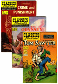 Golden Age (1938-1955):Classics Illustrated, Classics Illustrated Group (Gilberton, 1948-68).... (Total: 6 ComicBooks)