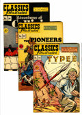 Golden Age (1938-1955):Classics Illustrated, Classics Illustrated Group (Gilberton, 1947-50) Condition: AverageVG+.... (Total: 17 Comic Books)