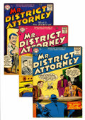 Silver Age (1956-1969):Adventure, Mr. District Attorney #54-56 Mohawk pedigree Group (DC, 1956-57).... (Total: 3 Items)