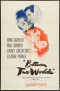 """Movie Posters:Mystery, Between Two Worlds Lot (Warner Brothers, 1944). One Sheets (2) (27"""" X 41""""). Mystery.. ... (Total: 2 Items)"""