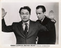 """Movie Posters:Crime, Edward G. Robinson and Humphrey Bogart in """"Brother Orchid"""" (WarnerBrothers, 1940). Photo (8"""" X 10"""").. ..."""