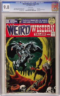 Weird Western Tales #12 (DC, 1972) CGC NM/MT 9.8 White pages